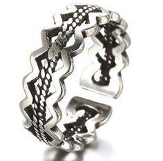 fashion rings #retro #punk #vintage #women #jewellery #hot #fashion #silver #trending #designer