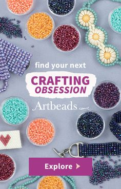 At Artbeads.com, WE LOVE BEADS. We have scoured the world, from Venice to Thailand, to find new and innovative products, and it is our desire to continue providing our customers with the best possible products and service that includes everything from the online experience to the presentation of beads carefully wrapped in our trademark purple tissue paper. Artbeads offers one of the widest selections of crafting supplies to everyone from beginners to experts to find their next crafting…