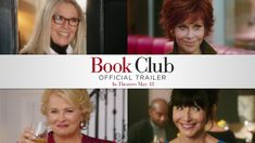BOOK CLUB starring Diane Keaton, Jane Fonda, Candice Bergen & Mary Steenburgen | Official Trailer | In theaters May 18, 2018