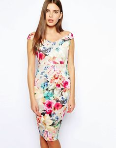 Buy ASOS Bloom Print Scuba Pencil Dress at ASOS. With free delivery and return options (Ts&Cs apply), online shopping has never been so easy. Get the latest trends with ASOS now. Summer Dresses For Women, Dresses For Sale, Nice Dresses, Floral Bridesmaid Dresses, Scuba Dress, Cocktail Attire, Vestido Casual, Asos Dress, Pencil Dress