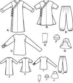 Mongolian Dell-Khan costume