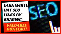 Publish useful content to earn natural links in your white hat SEO campaign White Hat Seo, Seo Strategy, Site Internet, Seo Tips, Search Engine Optimization, Content Marketing, Improve Yourself, How To Apply, Motivation