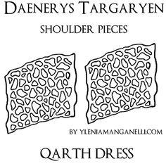 daenerys+qarth+dress+shoulder+pieces+pattern.png (320×320)