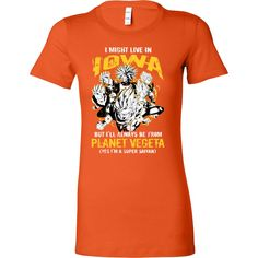 Super Saiyan I May Live in Iowa Woman Short Sleeve T shirt - TL00090WS