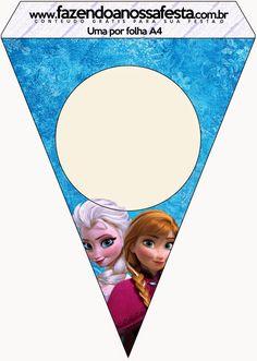 Frozen Azul y Púrpura: Imágenes, Fondos e Imprimibles Gratis para Fiestas.