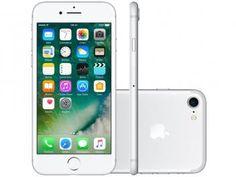 """Confira no Magazine Jc79: iPhone 7 Apple 128GB Prateado 4G 4,7"""" Retina - Câm. 12MP Selfie 7MP iOS 10 Proc. Chip A10 https://www.magazinevoce.com.br/magazinejc79/p/iphone-7-apple-128gb-prateado-4g-47-retina-cam-12mp-selfie-7mp-ios-10-proc-chip-a10/147278/ #PreçoBaixoAgora #MagazineJC79"""