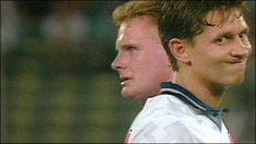 Gazza and Lineker, Italia Semi Final v West Germany. Not really a best moment, but a very memorable one! England National Football Team, England Football, West Ham Players, Classic Football Shirts, Football Pictures, Media Images, Tottenham Hotspur, Soccer Players, Ronaldo