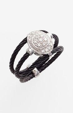 Charriol® 'Celtic Noir' Pavé Diamond Ring available at #Nordstrom