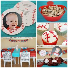 Baseball Party Ideas: this little boy's party was a huge hit!