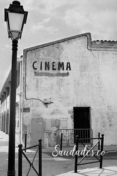 """Cinema"", Provence, 2010 • foto de Daniela Picoral disponível para venda hello@saudades.co • Limited edition fine art prints curated for the interior design market."