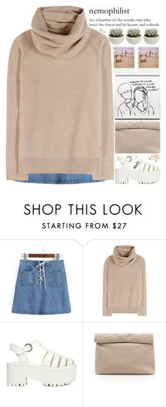 """""""i hope everybody is doing their best even tho we're all doomed"""" by alienbabs ❤ liked on Polyvore featuring Loro Piana, Polaroid, Y.R.U., Marie Turnor, clean, organized and shein"""