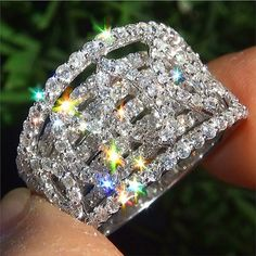 The Ultimate Diamond Cocktail Ring For Women » Most Wanted Accessories
