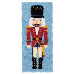 Mary Maxim - Nutcracker Latch Hook Rug Kit - Latch Hook - Crafts