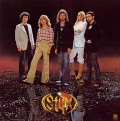 STYX then. In their prime. The music of my youth. They were hot. Saw them in 1981 at Madison a Square Garden. Was as good as could be expected.