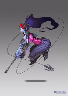 Looking for some Overwatch Widowmaker wallpaper? Discover other Overwatch heroes among more than 500 wallpaper inside. Overwatch Widowmaker, Overwatch Comic, Overwatch Fan Art, Character Concept, Character Art, Concept Art, Character Design, Video Game Art, Video Games