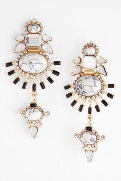 Guinevere Pendant Earrings