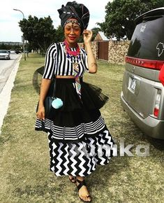 We have the latest modern Xhosa dresses online on Sunika. Discover Top Xhosa dresses designers in South Africa for your next outstanding Xhosa Wedding dress. South African Traditional Dresses, Traditional Dresses Designs, Traditional Outfits, Traditional Weddings, African Wedding Attire, African Attire, African Wear, African Print Dresses, African Fashion Dresses