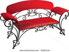 wrought-iron furniture by elenikov, via Shutterstock
