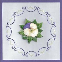 borduur viooltje 2012