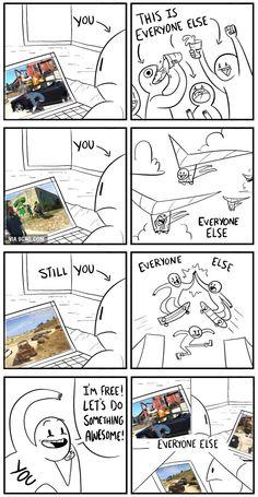 Rushing GTA 5
