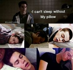 Okay the bottom two are Dylan and not Stiles but yup, you're proving yourself wrong there buddy but he was mostly exhausted from staying up late in teen wolf investigating stuff so yeah Stiles Teen Wolf, Teen Wolf Mtv, Teen Wolf Boys, Teen Wolf Dylan, Teen Wolf Cast, Memes Teen Wolf, Teen Wolf Quotes, Teen Wolf Funny, Stupid Funny Memes