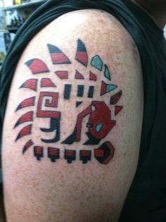 Monster hunter tattoo