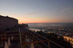Passau im Morgendämmerung