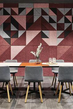 Colours and composite shapes mean unique designs for unique spaces @bauxdesign