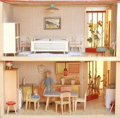 Puppenhäuser 50er 10