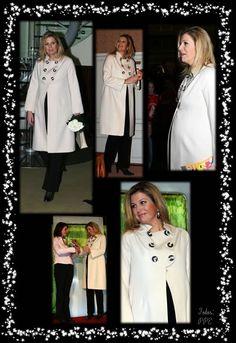 Koningin Máxima, toen nog prinses, zwanger van Ariane, 2007