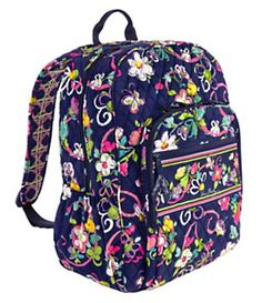 Campus Backpack in Ribbons from Vera Bradley 3d6c32fff5c36