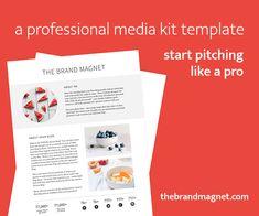 The Brand Magnet - Media Kit Creation!