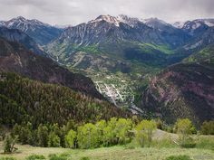 Check out the photo galleries and blog of Jack Brauer, an amazing photographer who specializes in photos of mountains in Colorado, Europe and South America. He lives in Ouray, Colorado, pictured here. http://www.mountainphotographer.com
