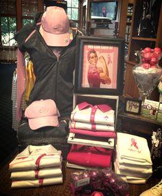 Display we made for the ladies 9 Holers Breast Cancer Tournament.   Katrina Navarrete knava023@gmail.com