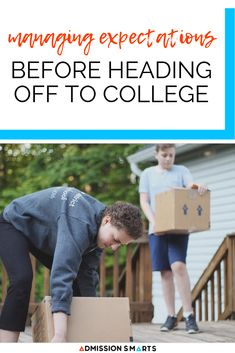 They may not be the first things that come to mind when you think college, but they have a lot to do with the stress and anxiety that surrounds this time of year for high school seniors. College Years, College Essay, Freshman Year, College Survival, Essay Writer, College Application, College Admission, Scholarships For College, Angst