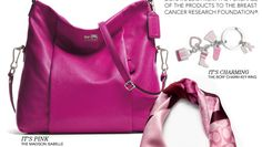 Breast Cancer Awareness Products and BCRF Products from Coach