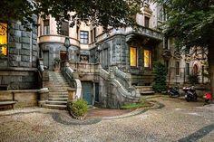 Buongiorno #Milano In viale Bianca Maria con Franco Brandazzi #milanodavedere Milano da Vedere