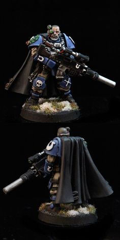 The Internet's largest gallery of painted miniatures, with a large repository of how-to articles on miniature painting Warhammer Figures, Warhammer Models, Warhammer 40k Miniatures, Warhammer 40000, Miniaturas Warhammer 40k, Fantasy Battle, Space Wolves, Mini Paintings, Space Marine