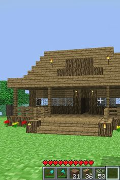 Mine craft house! This is a good one!!!