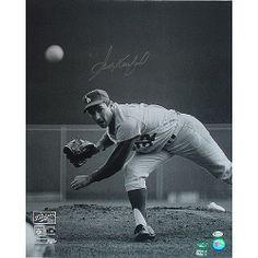 1965 world series | ... Angeles Dodgers Sandy Koufax Autographed 1965 World Series 16x20 Photo