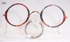 7ff715ad28 Tortoise shell cellulose and gold filled frame - Vintage Glasses - Dead  Men s Spex Vintage Frames