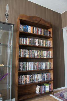 Dvd Storage Ideas: DVD storage, CD storage, dvd storage cabinet #dvd #cd #storage