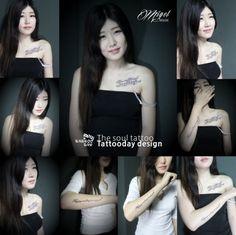 tattoo design :D 홍대타투