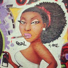 #Graffiti #Art #Pearl #Painting #Girl