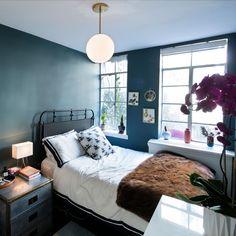 52 Small Cozy Bedroom Design Ideas Apartment - adventure and living Cozy Bedroom, Home Decor Bedroom, Bedroom Furniture, Living Room Decor, Furniture Ideas, Bedroom Ideas, Dining Room, Modern Country, Country Living