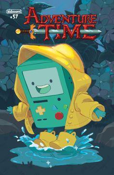 siobhanchiffon: I did a variant cover for Adventure Time,...