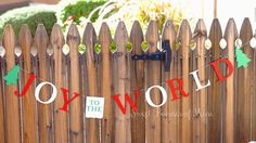 Joy To The World by sweetbannerofmine on Etsy