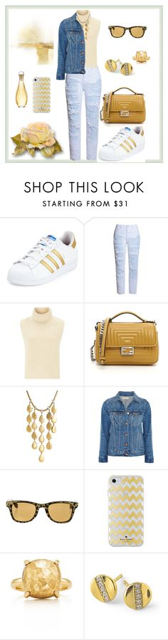 """Casual"" by megeller on Polyvore featuring moda, adidas, Étoile Isabel Marant, Fendi, John Hardy, Madewell, Kate Spade, Ippolita e Christian Dior"