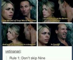 Rule 1: Don't skip Nine