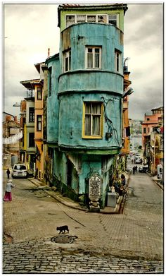 Istanbul...something about the age of this makes me want to go here one day